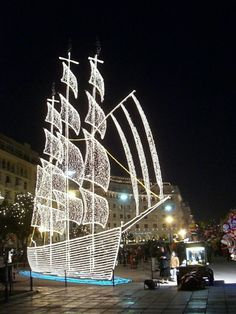 christmas decorations in thessaloniki greece - Greek Christmas Decorations