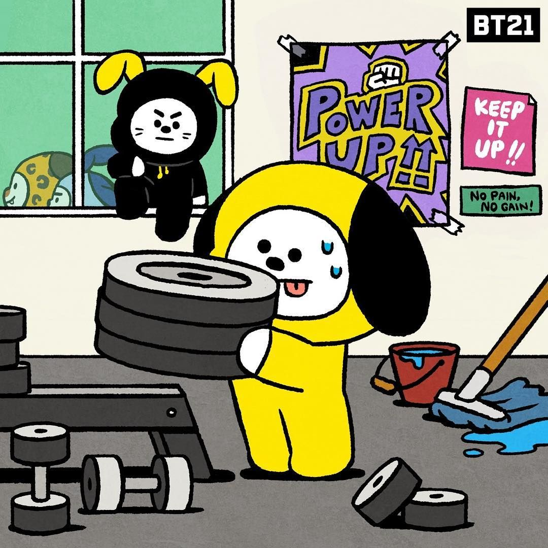 Bt21 On Instagram Wonder Who The Chief Is Here Obviouslynotchimmy Whoisbehindchief Chimmy Rival Chief Dibujos Chibi Bts Para Dibujar Fan De Arte
