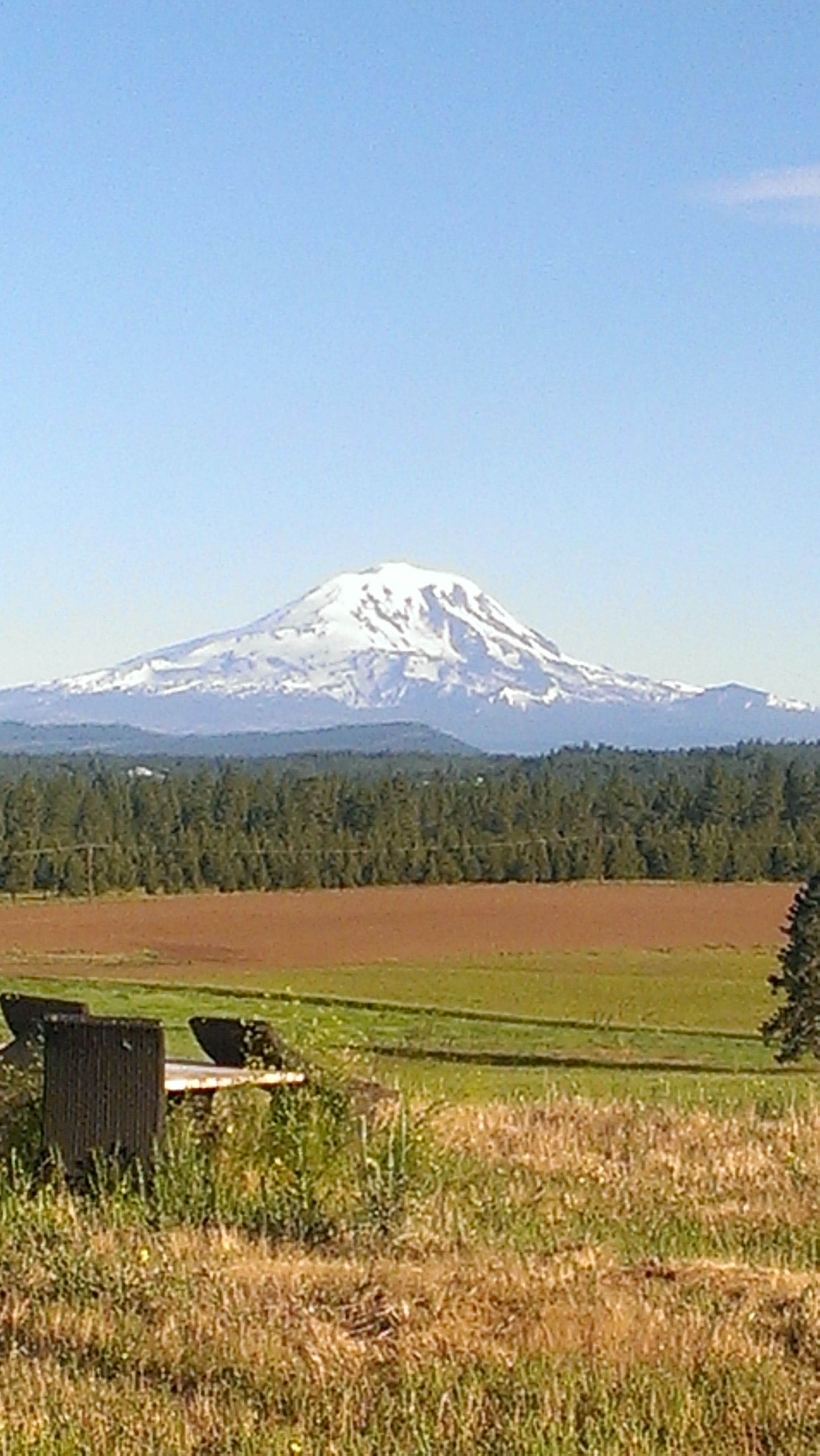 Goldendale, Washington a view of Mt Adams | My travels in