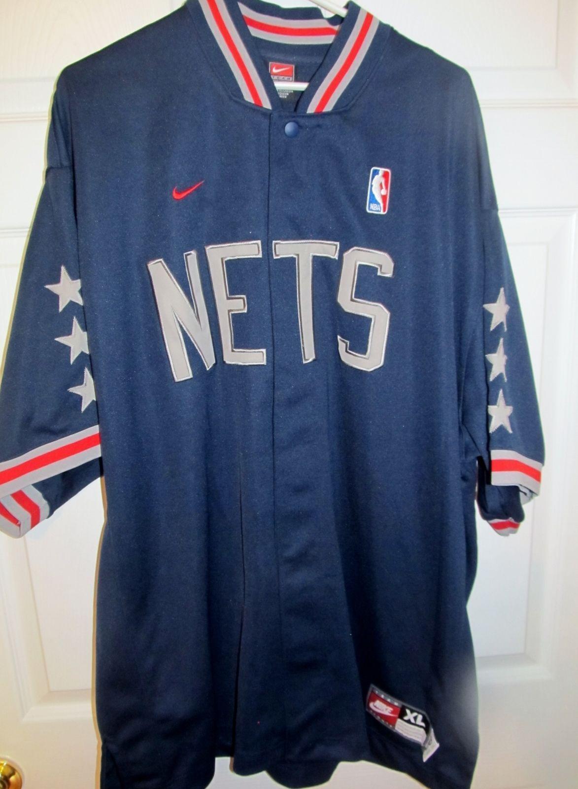 Brooklyn NJ Nets 1980 Throwback Retro NBA Warm-Up Jacket X-large -  Basketball-NBA cd8290a75