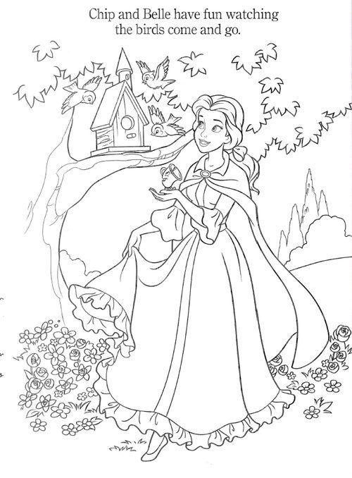 Coloriage La Belle Et La Bete Disney Princess Coloring Pages Princess Coloring Pages Belle Coloring Pages