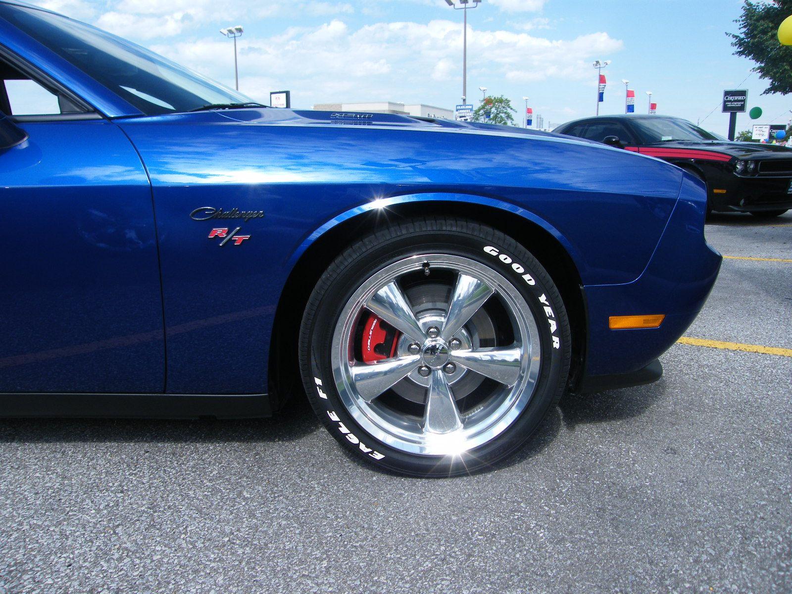 goodyear white letter tires kit on challenger
