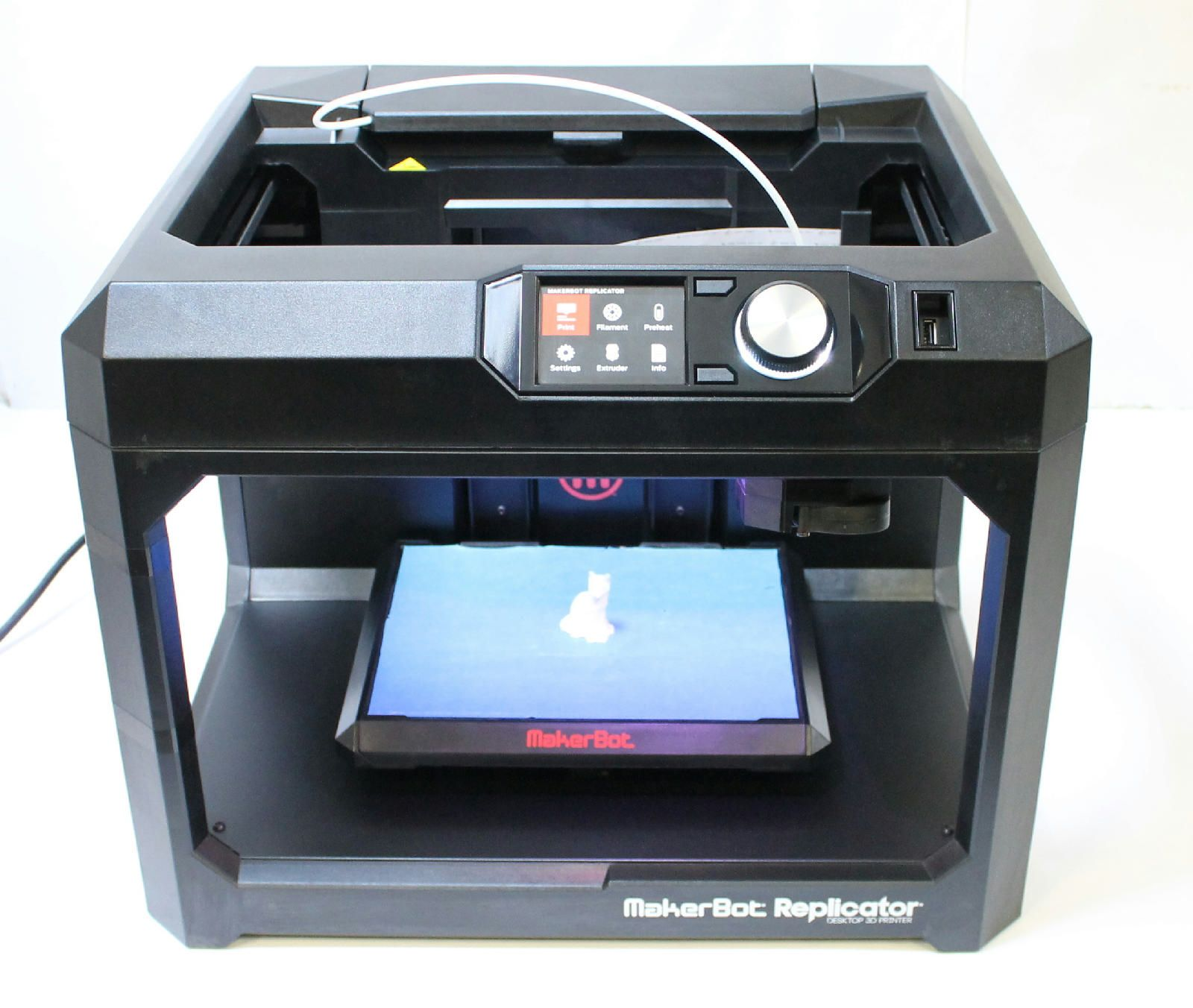 MakerBot Replicator Fifth Gen Desktop 3D Printer MP05825