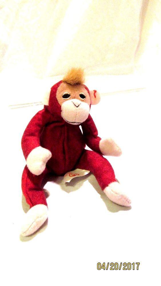 a10495a0fdd TY McDonalds Teenie Beanie Baby 2000 Schweetheart the Orangutan At the Zoo   12  Ty