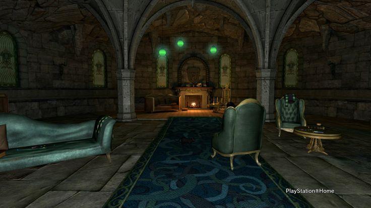 Slytherin Common Room Pottermore Slytherin Decor Slytherin