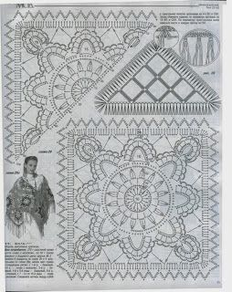 Mandala: Crochet Motifs…♥ Deniz