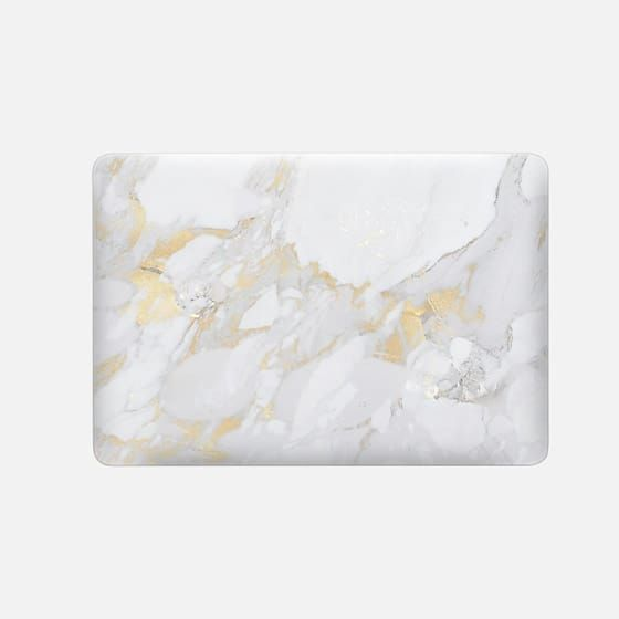 Marble with gold