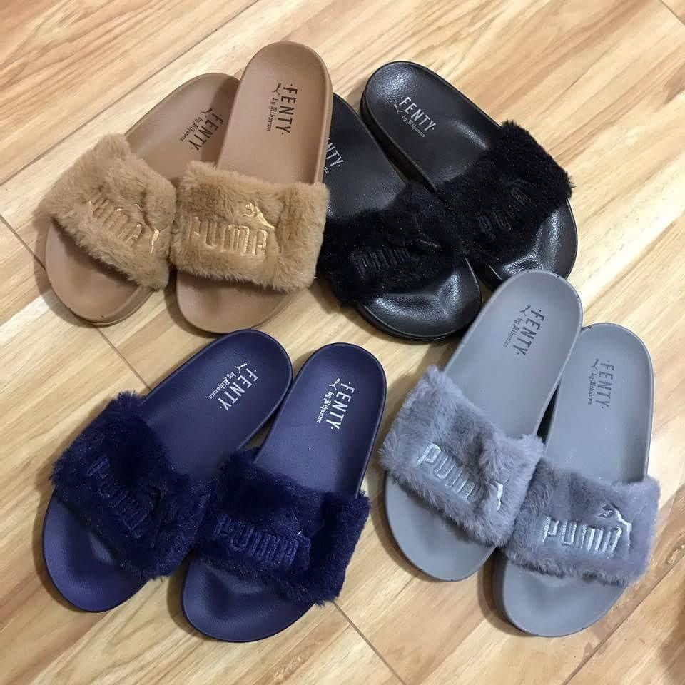d3ad59ec0767b1 PUMA FENTY SLIDE ✓RUBBER (SUPER LAMBOT) ✓Replica slide - AVAILABLE COLORS: