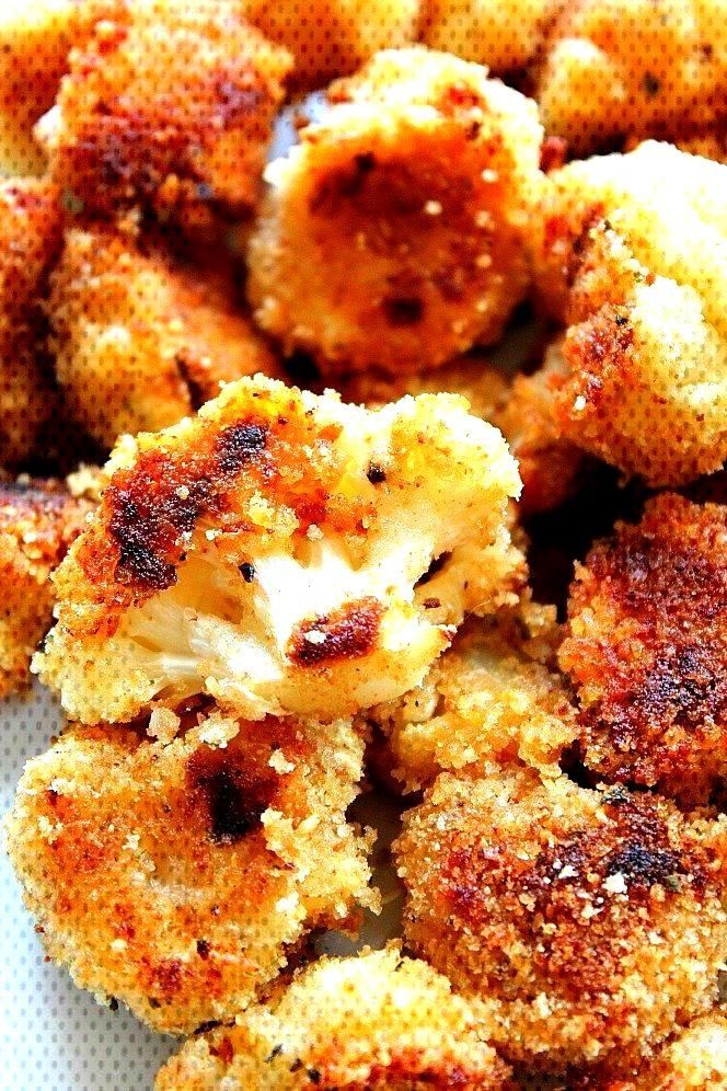Cauliflower with Parmesan and Roasted Garlic - New Ideas - l39ail cheese Gebratener Knoblauch-Parm
