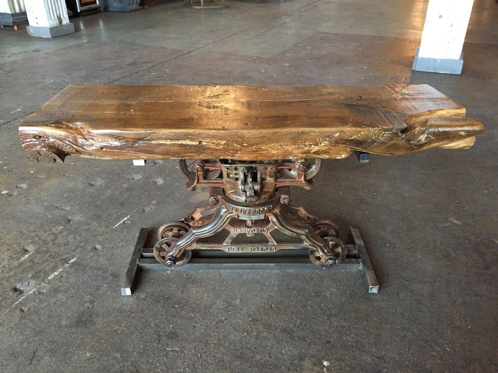 Breclaimed Rustic Furniture Wood Metal Industrial