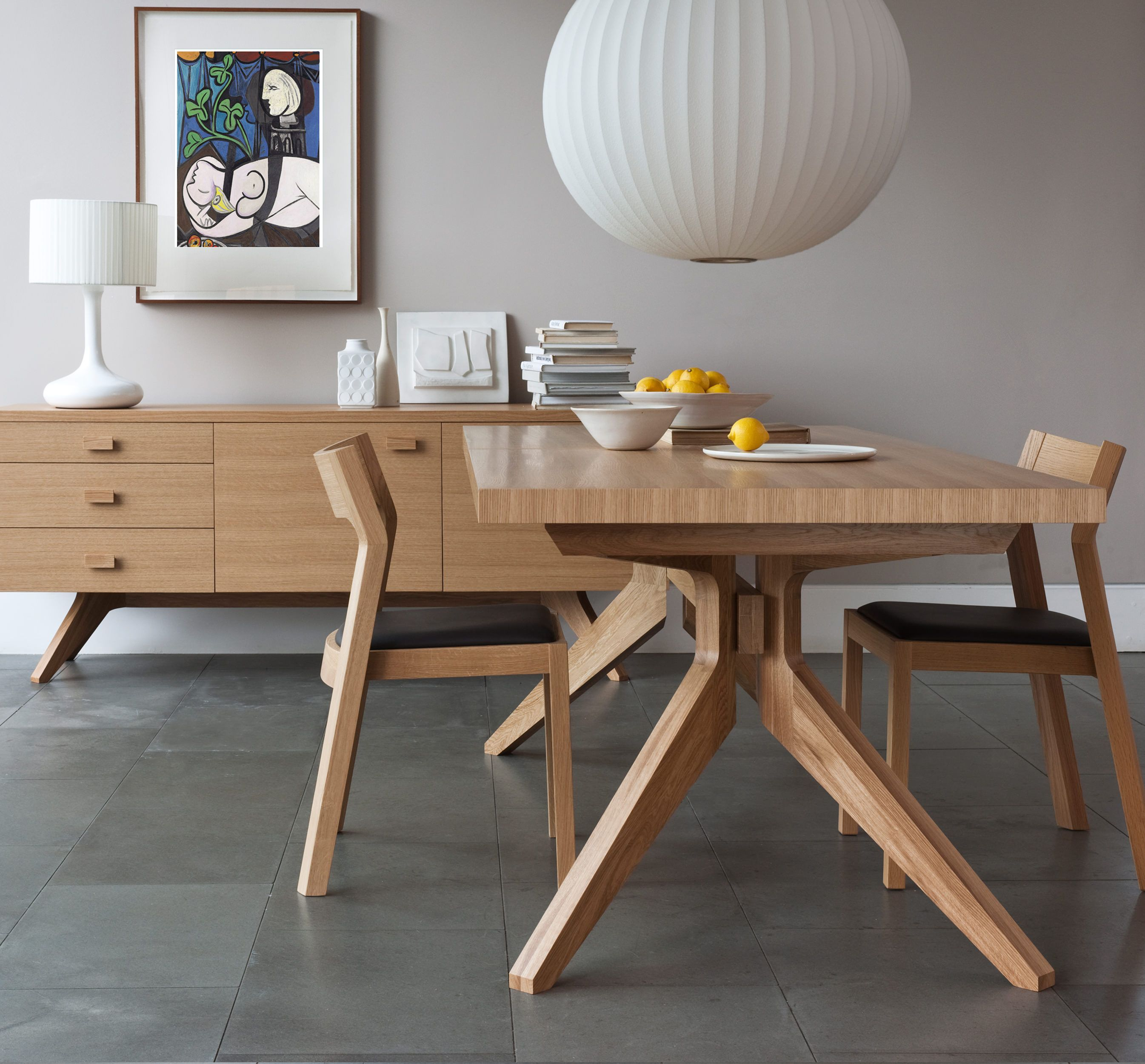 Buy TL071 Matthew Hilton Cross Dining TableWood Furniture on bdtdc