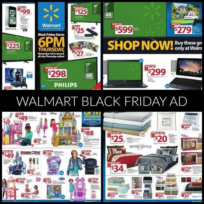 when will walmart release black friday ad 2020