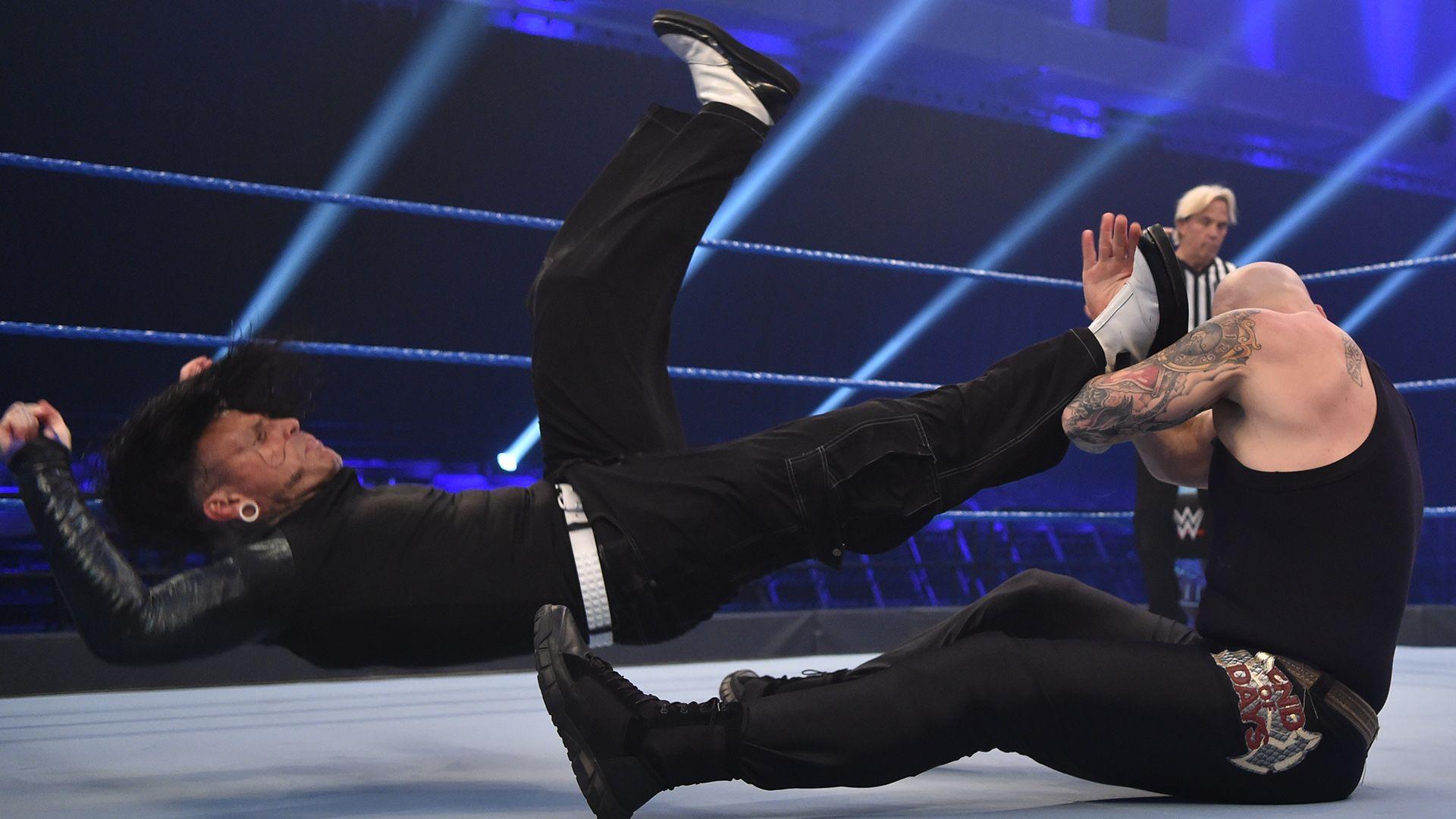 """Jeff Hardy def. King Corbin"""""""