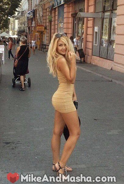 image Pretty euro blond is picked up in public