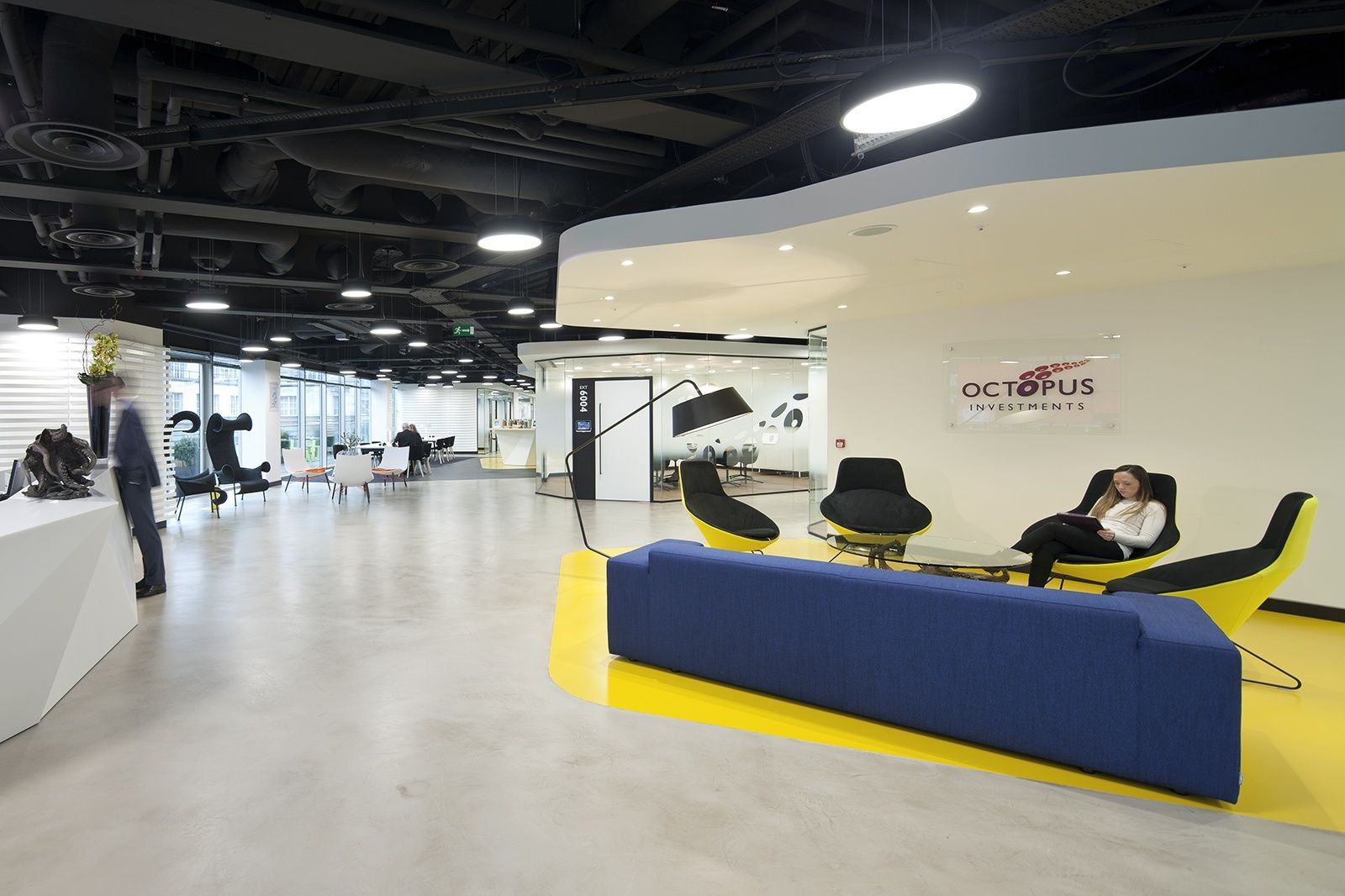 Inside octopus investments new london office design for Design firms london