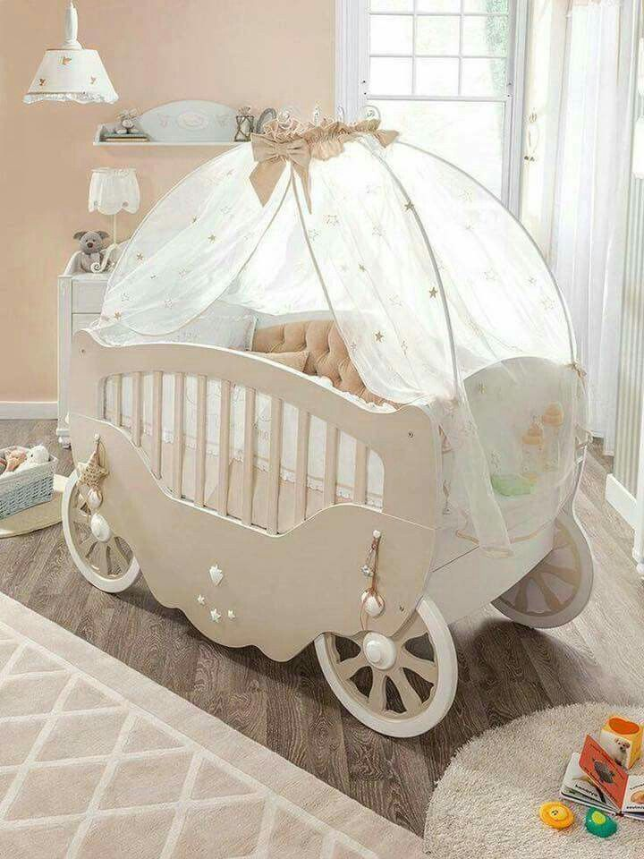 Cinderella bassinet for a princess | Baby Ideas | Pinterest | Baby ...