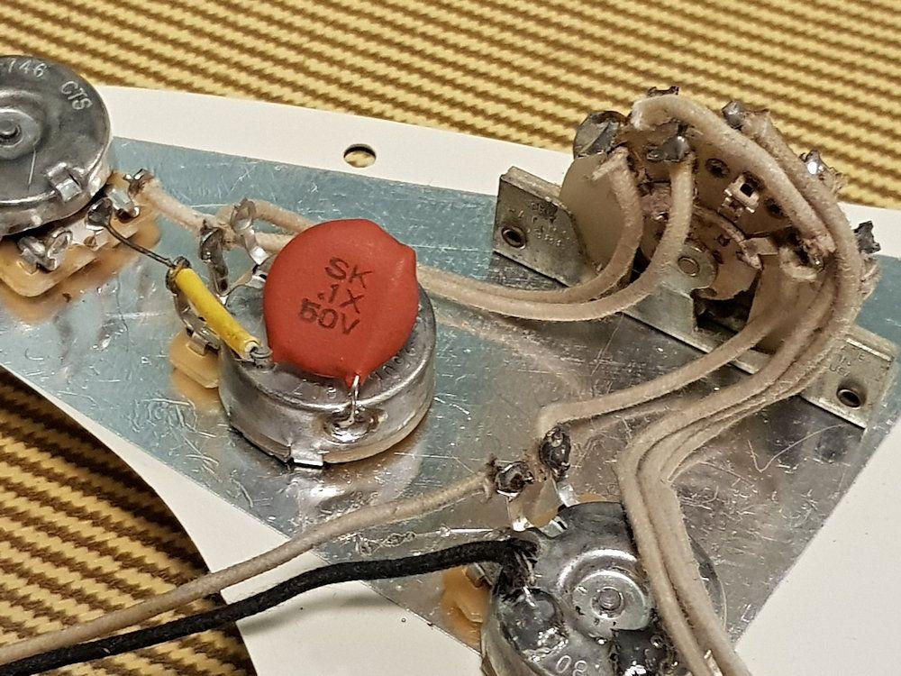 Orange Dime Circle D 05uf Nos Capacitor Fender Vintage Capacitors Custom Guitars