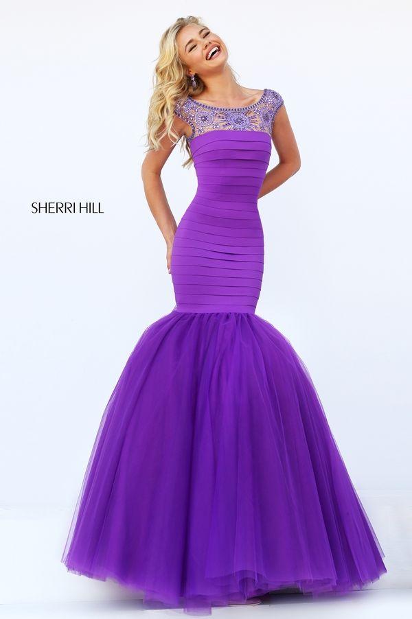 Elegant Mermaid Party Prom Dress Sherri Hill 50014 | savedem ...