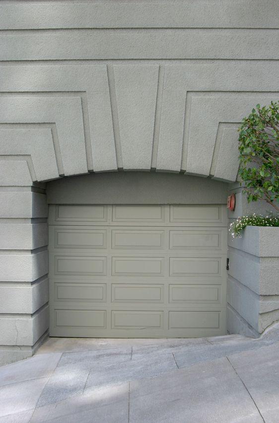 Walls And Garage Doors Same Color Portone Garage
