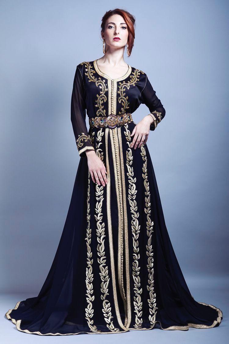 c952b95e01 Moroccan Caftan, Morrocan Dress, Morrocan Fashion, Hijab Dress, Traditional  Dresses, Caftans