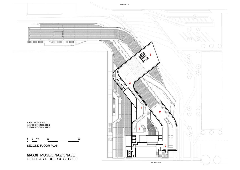 Gallery Of Maxxi Museum Zaha Hadid Architects 22