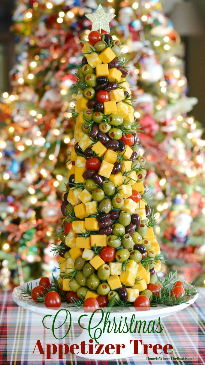 impress your party guests with a christmas appetizer tree as fun to decorate as it is to eat homeiswheretheboatisnet christmas party appetizer