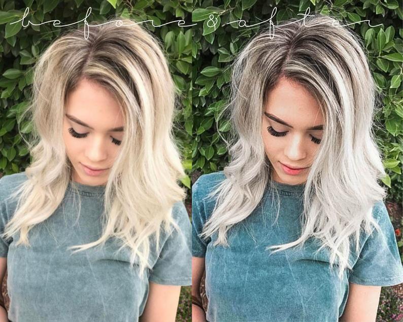 Blonde Filter Bright Preset Fashion Preset 4 Light