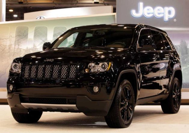 Vwvortex Com Jeep Releases Blacked Out Grand Cherokee Concept