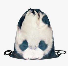 d20f6fbbdd Galaxy sunglasses cat 3D Printing backpack women bag Fashion Travel  Drawstring bag mochila feminina backpacks mini backpack
