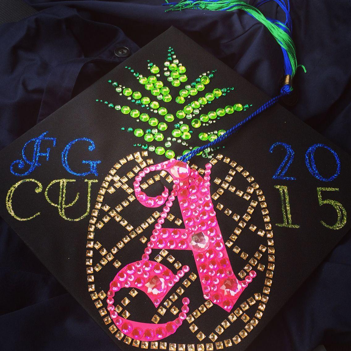 how to decorate graduation cap with cricut