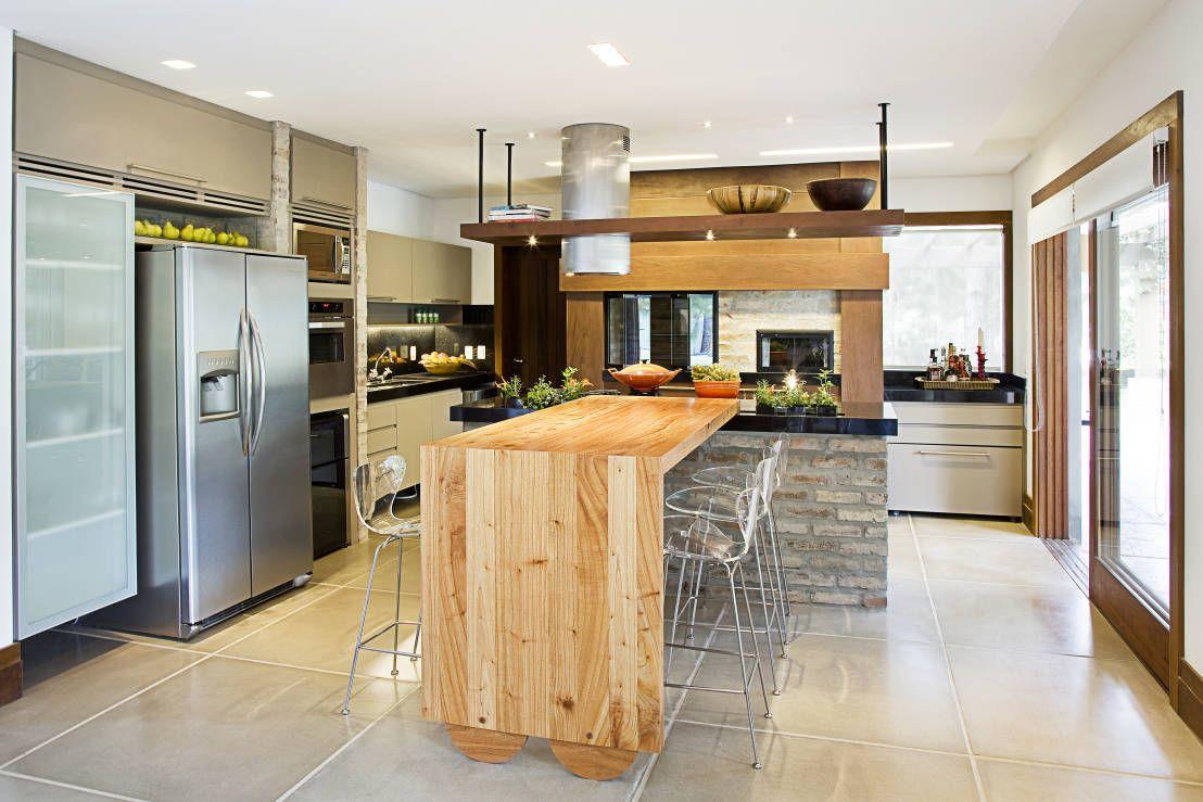 Cocinas: ¡7 barras extraordinarias! | Cocina ecléctica, Cocinas con ...