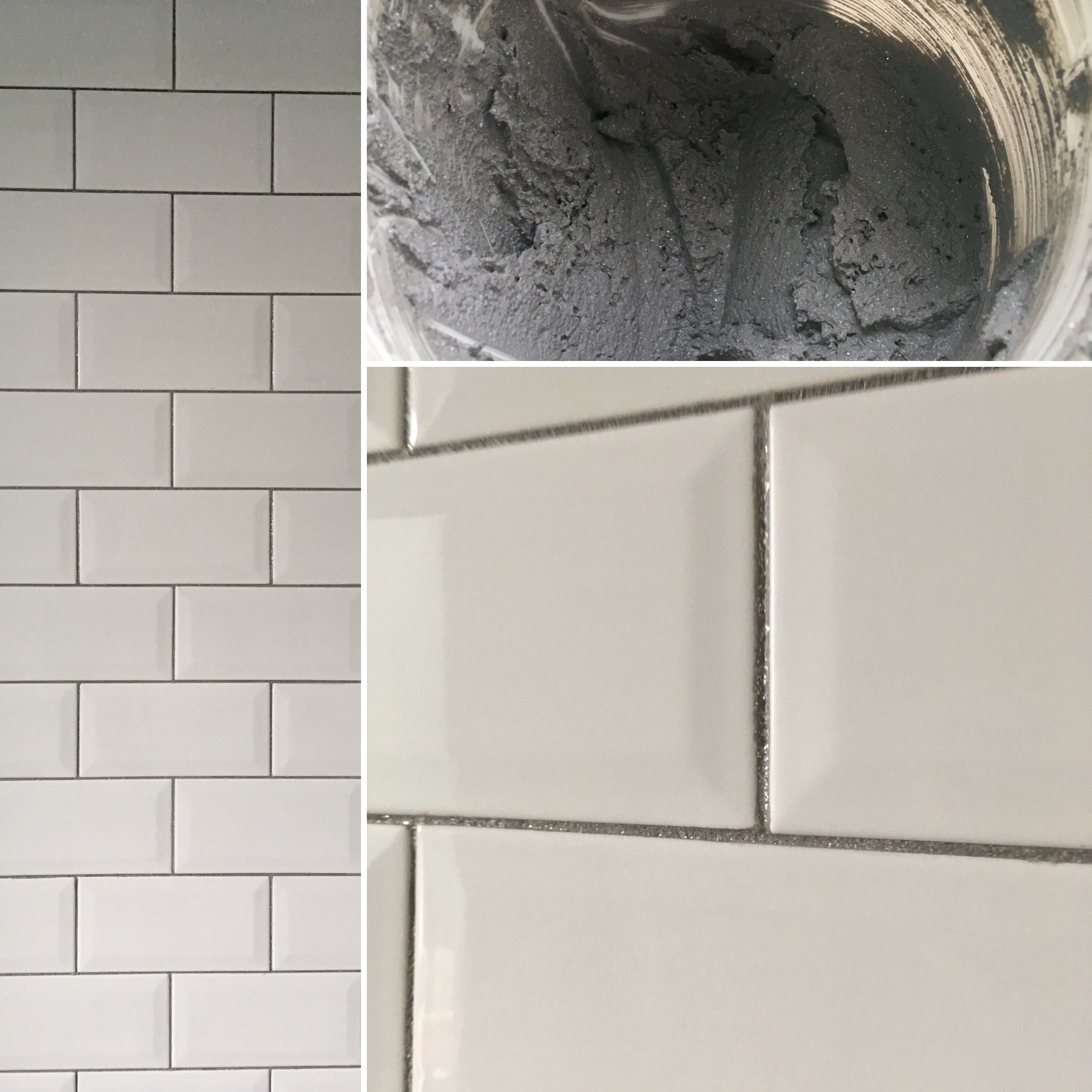 - Glitter Grout On White Tiles Glitter Grout, White Tiles, Diy