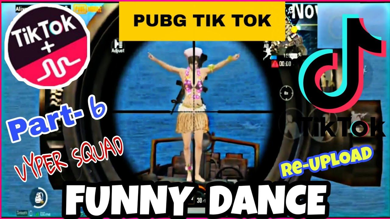 Most Funny Pubg Tiktok Video When Pubg Takes On Tiktok Pubg Moments On Tiktok Episode 6 Dance Humor Funny Gif Funny