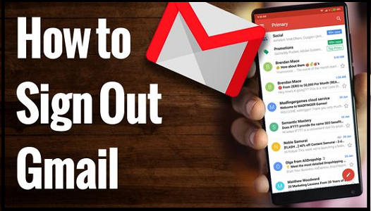 How to Log out of Gmail Gmail, Logout, Sign out