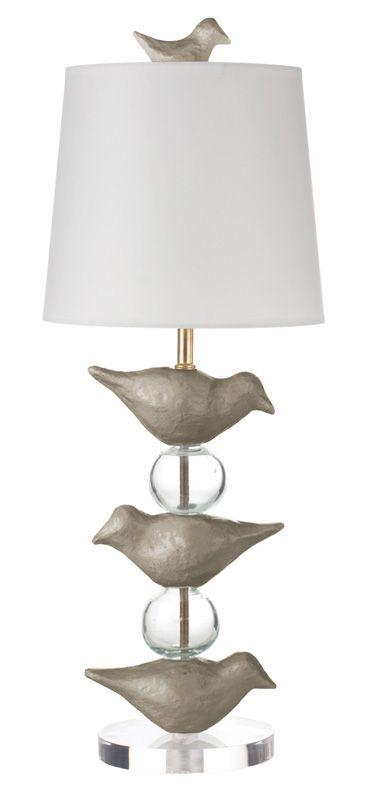 Love this bird lamp!!