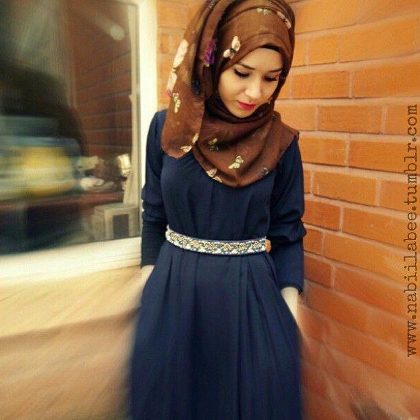 Another pic of @Nabila Tazyeen Tazyeen Ahmed Bee in ash-shams :) ❤ hijab style