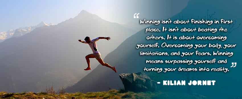 Kilian Jornet Quotes Winning Trail Running Montañas