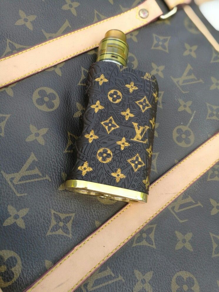 Kalasag vape mod Louis Vuitton | Vape Mods: Custom Painted by ME in