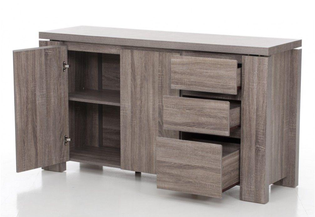 Majesty 3 Drawer 2 Door Buffet Tall Cabinet Storage Furniture Home Furniture