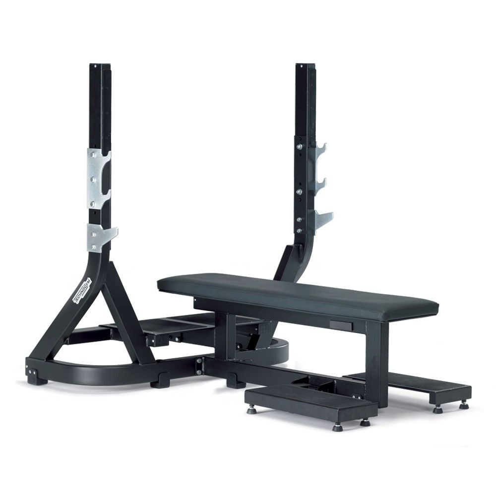 PURE STRENGTH - OLYMPIC FLAT BENCH | ejercicio | Pinterest | Fitness ...