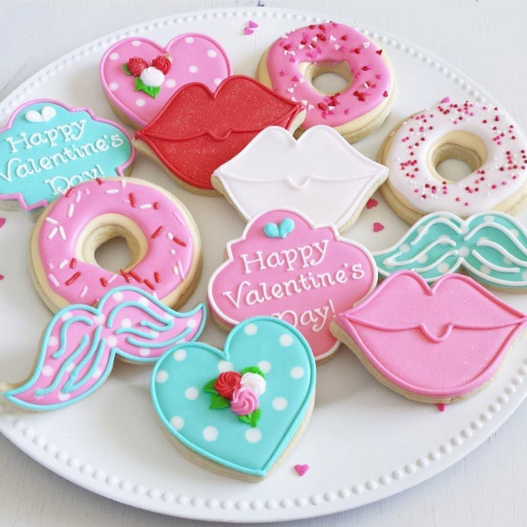 Galletas Decoradas Paso A Paso Valentine Cookies Be My Valentine En 2019 Pinterest
