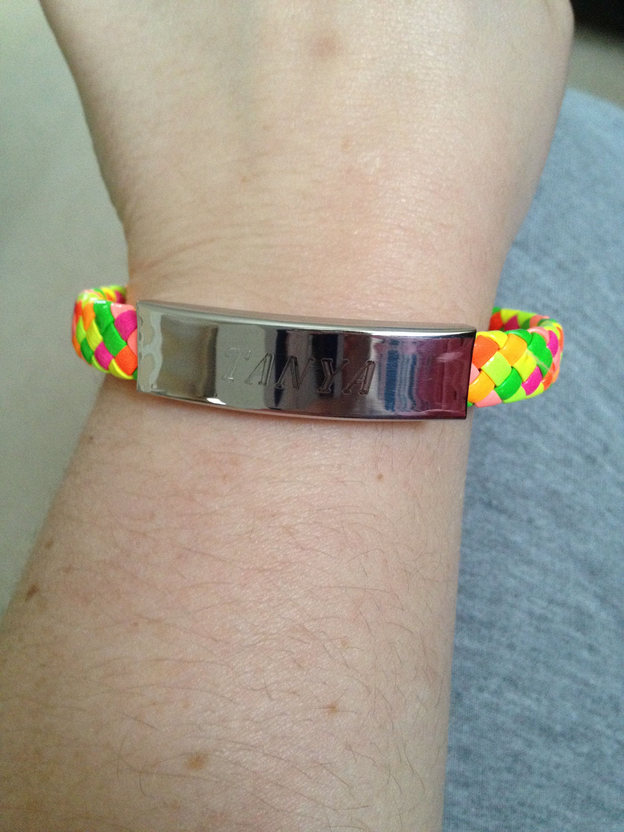 The lovely bracelet that one of my little judoka\'s brought back ...