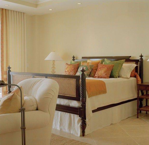 Tropical West Indies bedroom