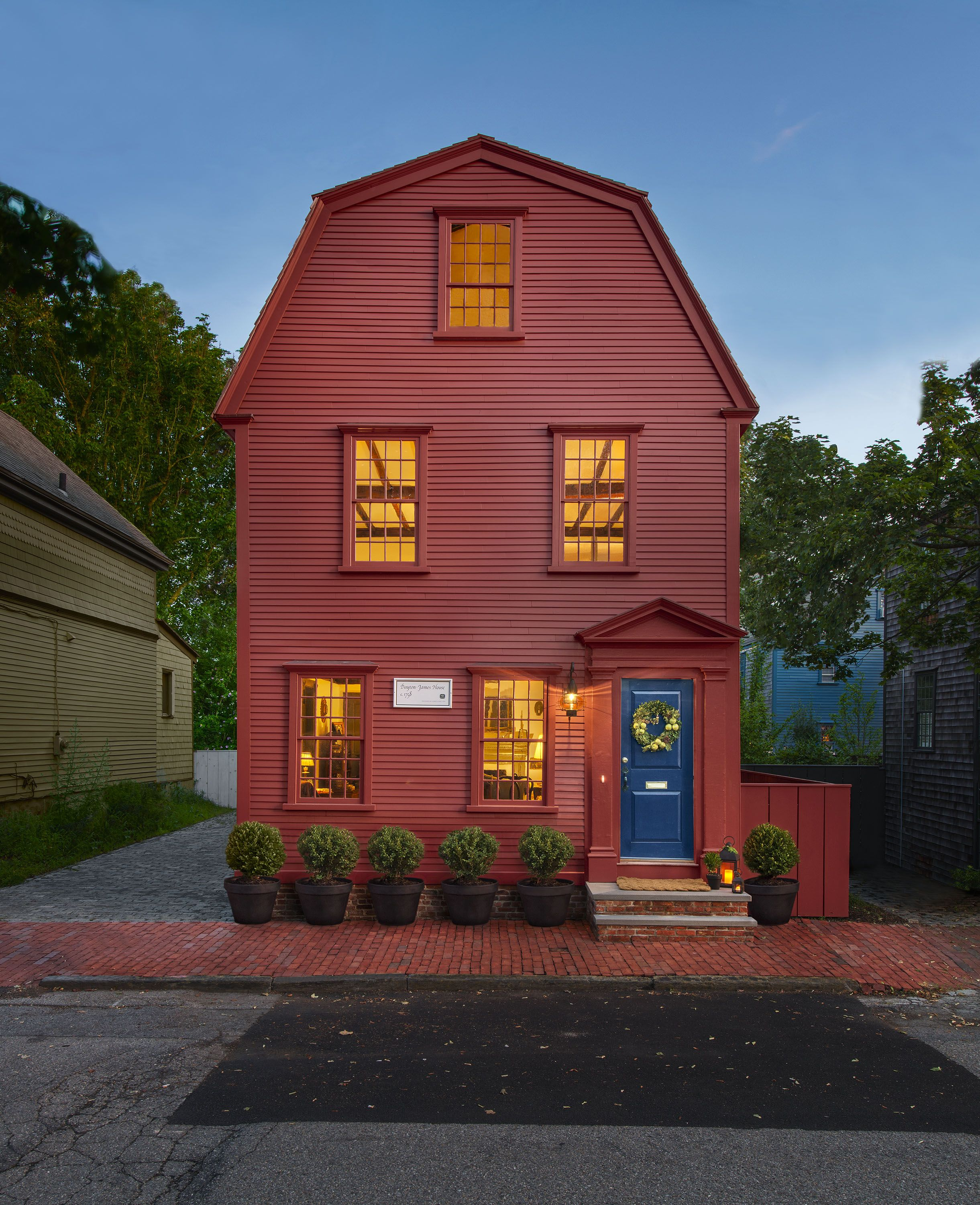 Family Love Sustains Three Colonial-era Homes In Newport