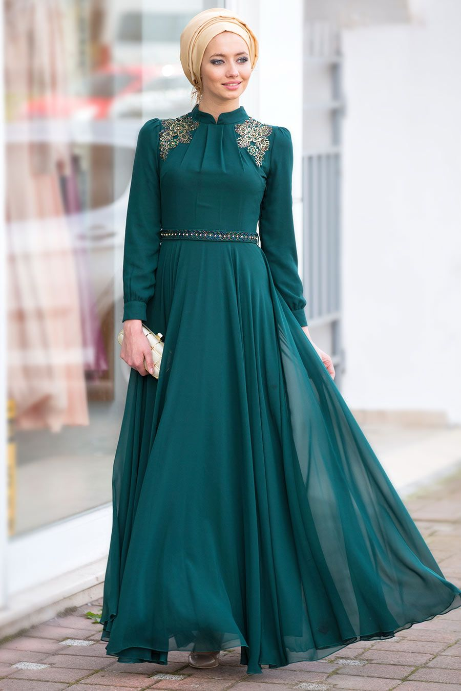 FEIZA_EVENING_DRESS_COLLECTION(M) | muslim fashion | Pinterest ...