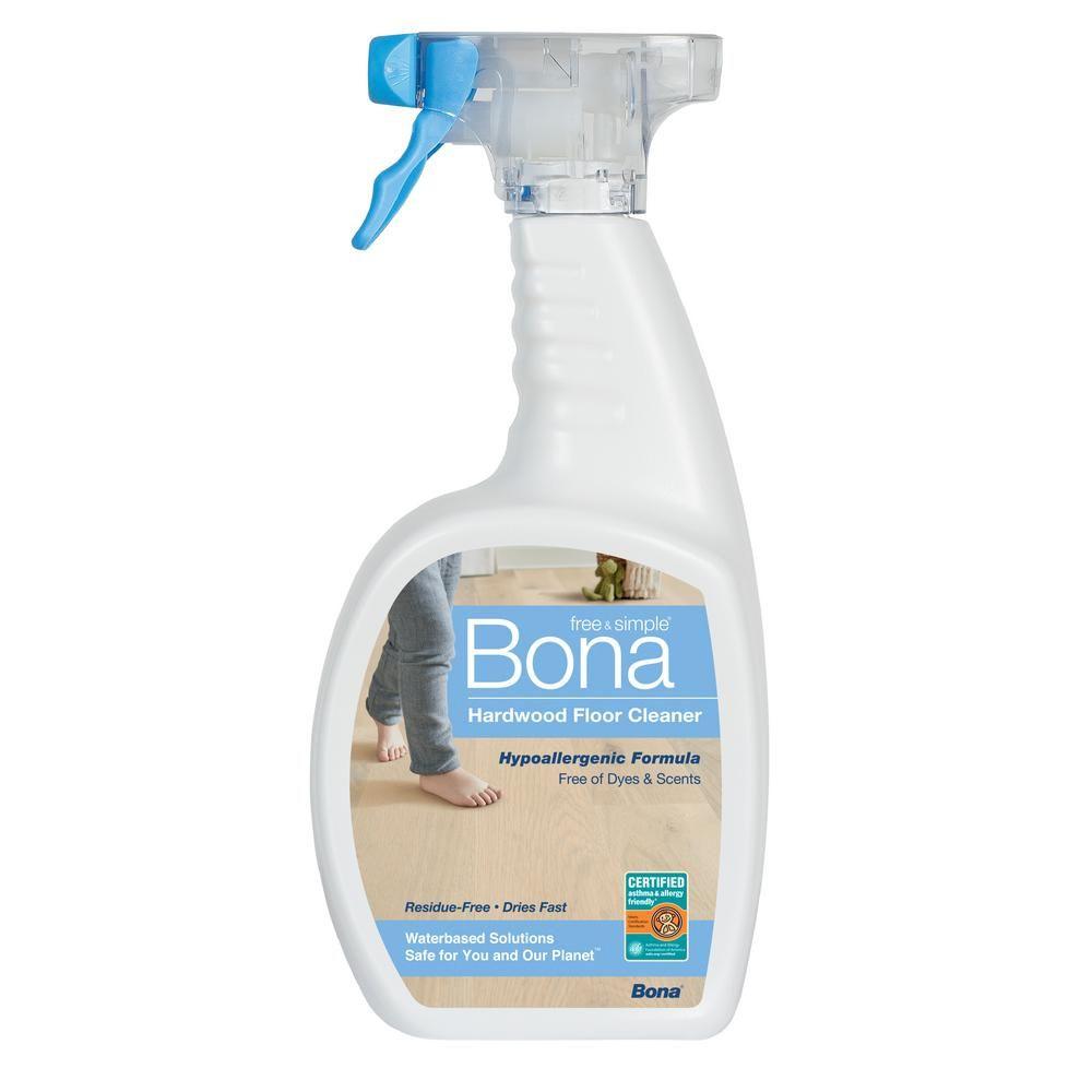 Bona 32 Oz Free And Simple Hardwood Cleaner Hardwood Floor Cleaner Hardwood Cleaner Installing Hardwood Floors