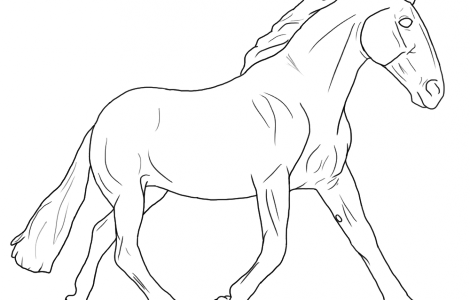 Breyer Horse Coloring Pages Coloring Pages