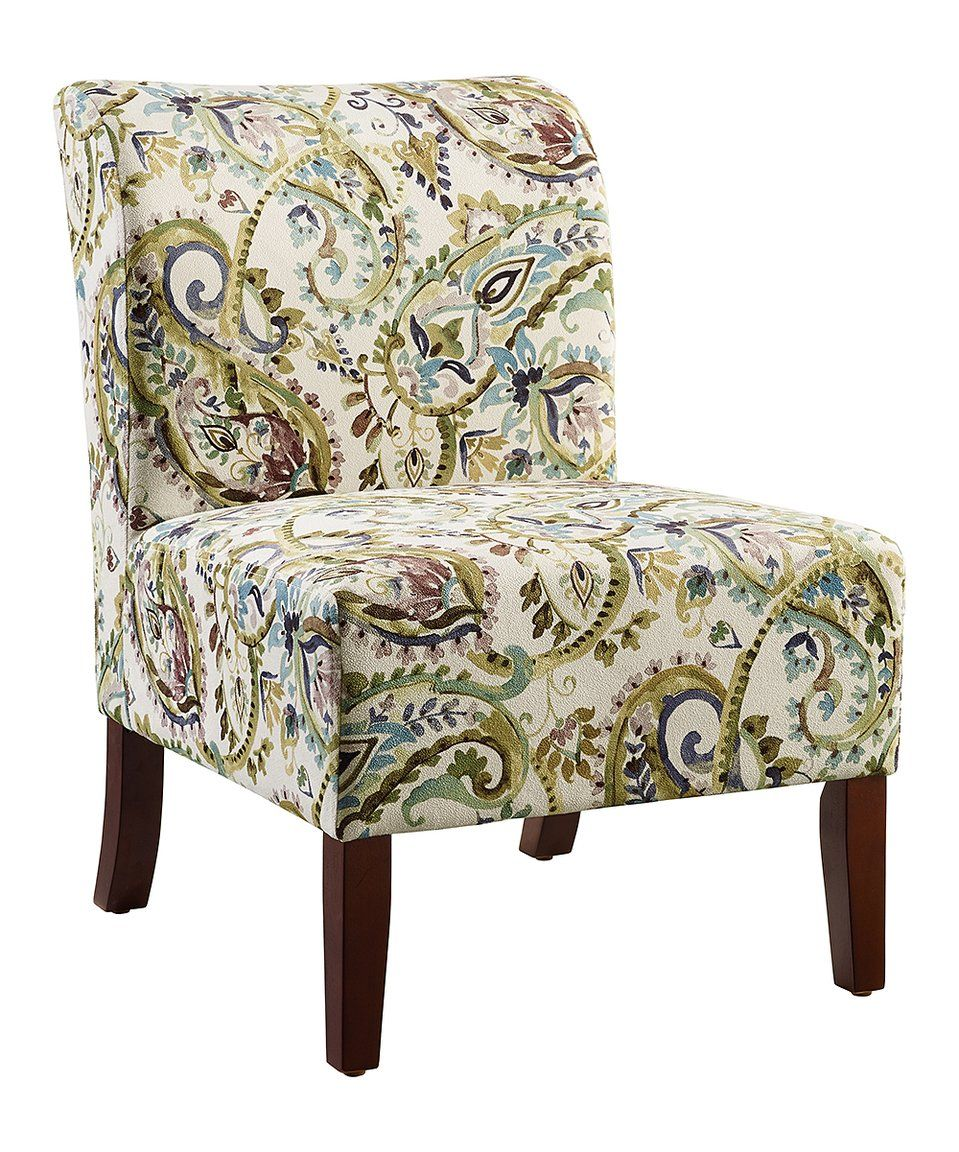 Best Take A Look At This Green Blue Paisley Julie Curved Back 400 x 300