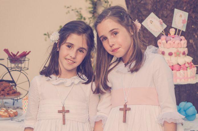 La Comunión de María y Alejandra.