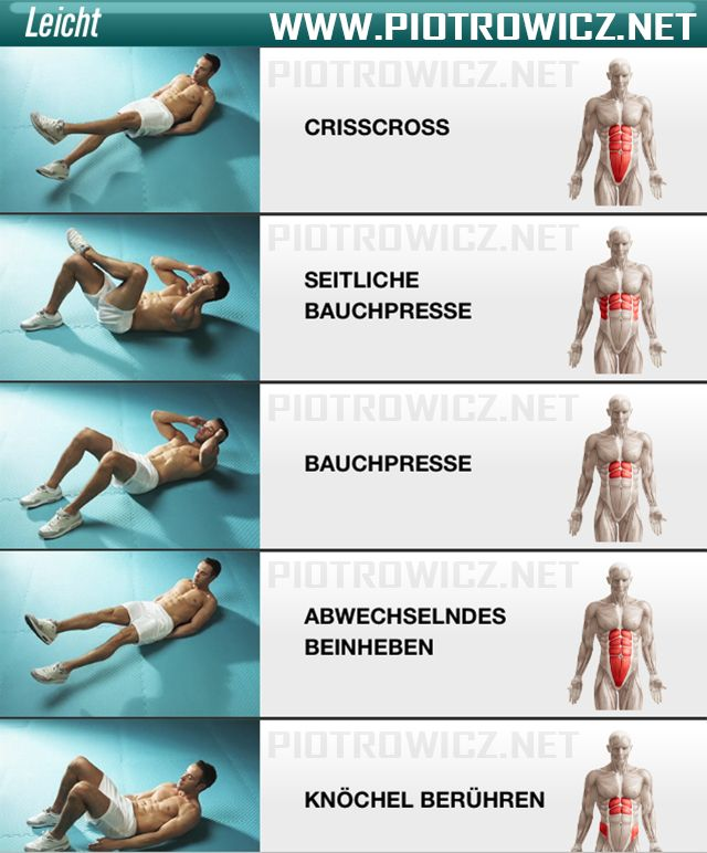 Easy ab workout for men